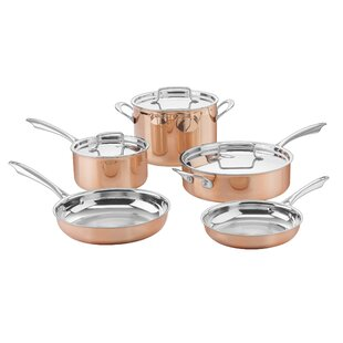 Budget 8-Piece Tri-Ply Cookware Set By Cuisinart