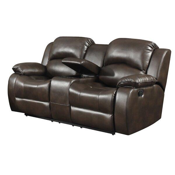 Marvelous New Design Miramar Leather Reclining Loveseat By Alcott Hill Ibusinesslaw Wood Chair Design Ideas Ibusinesslaworg