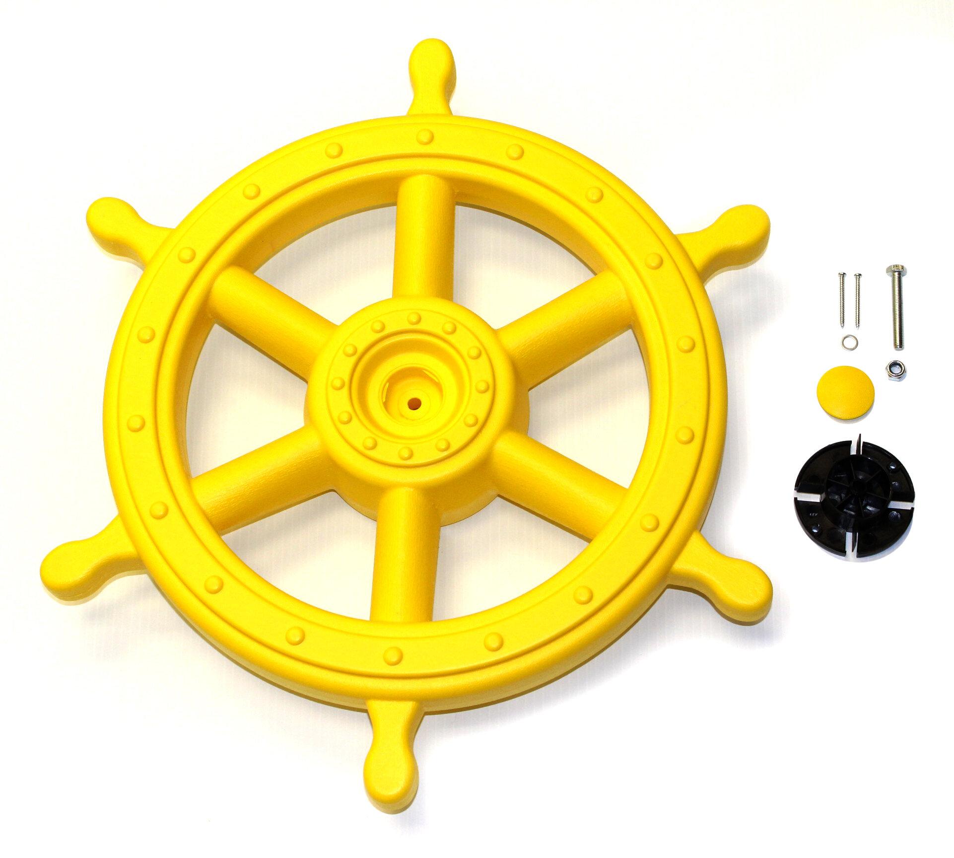 Eastern Jungle Gym Deluxe Captains Ship Wheel & Reviews | Wayfair