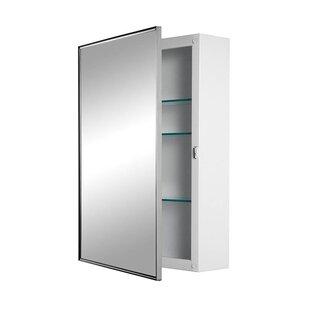 Price comparison Styleline 16.13 x 22.13 Surface Mount Medicine Cabinet By Jensen