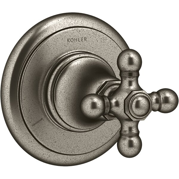 Artifacts® Transfer Valve Trim with Cross Handle by Kohler