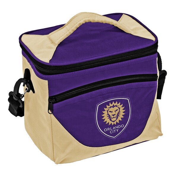 9 Can Orlando City SC Halftime Lunch Cooler by Logo Brands