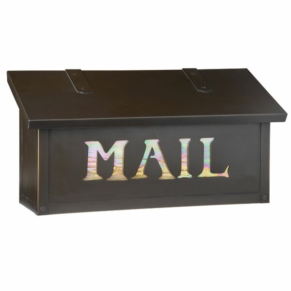 Classic with Mail Horizontal Wall Mounted Mailbox by America's Finest Lighting Company