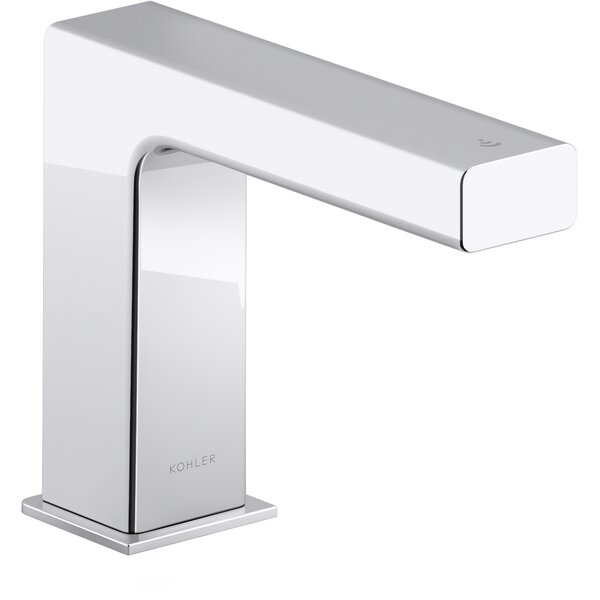 Strayt Touchless Bathroom Sink Faucet with Kinesis Sensor Technology and Mixer, Ac-powered