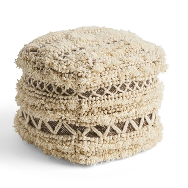 Jules Tufted Pouf by Union Rustic