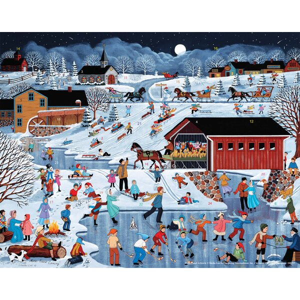 More Snow Coming Advent Calendar by The Holiday Aisle