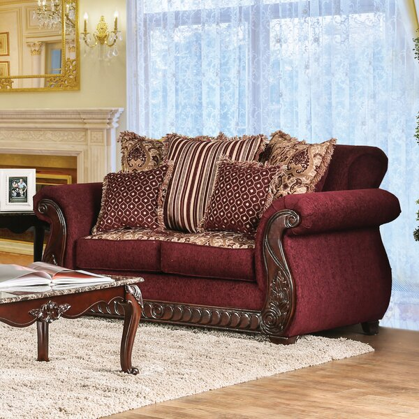 Beautiful Classy Dolson Traditional Loveseat by Astoria Grand by Astoria Grand