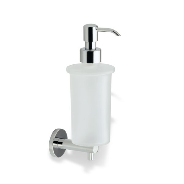 Venus Wall Mount Glass Soap Dispenser by Stilhaus by Nameeks