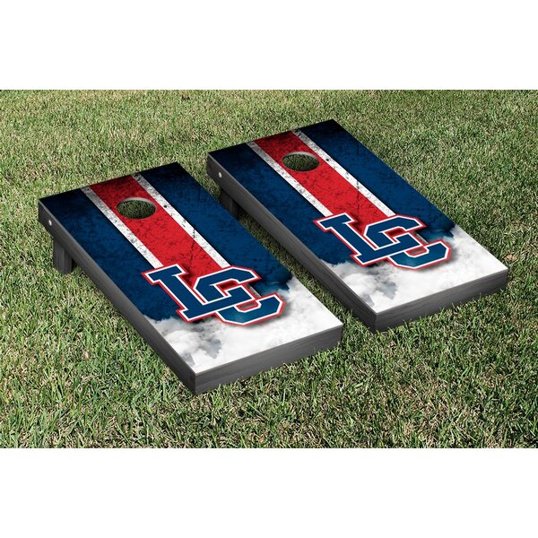 NAIA Vintage Version Cornhole Game Set by Victory Tailgate
