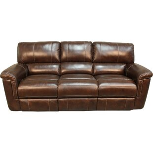 Blair Dual Leather Reclining Sofa