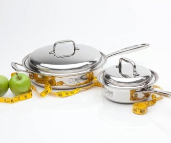 2 Piece Cookware Set by 360 Cookware