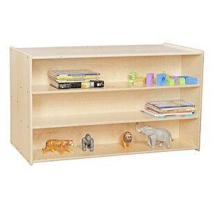 Contender Double Sided 3 Compartment Cubby with Trays ByWood Designs