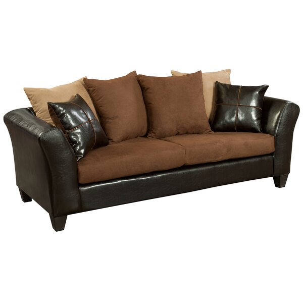 Search Sale Prices Dilorenzo Microfiber Sofa by Latitude Run by Latitude Run