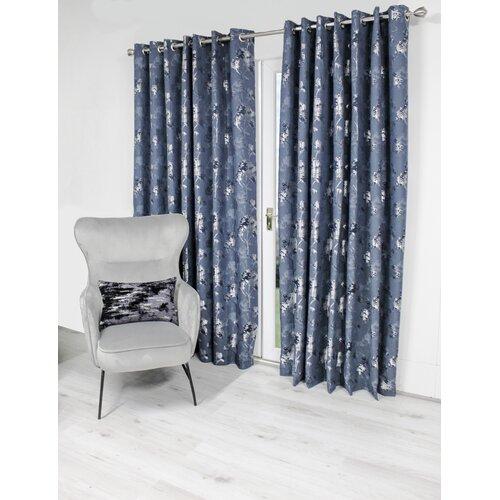 Sousa Eyelet Room Darkening Thermal Curtains Rosalind Wheele