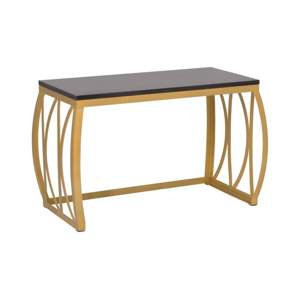Metal Bench by Emissary Home and Garden