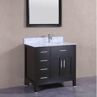 Reviews 36 Single Bathroom Vanity Set ByBelvedere Bath