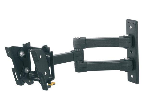 Multi Position Extending Arm / Tilt / Swivel Wall Mount for 12 - 25 Flat Panel Screens by Eco-Mount by AVF