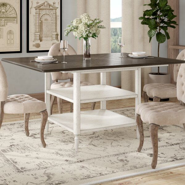 Baleine Counter Height Extendable Dining Table by Lark Manor