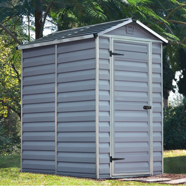 SkyLight™ 4 Ft. W x 6 Ft. D Storage Shed by Palram