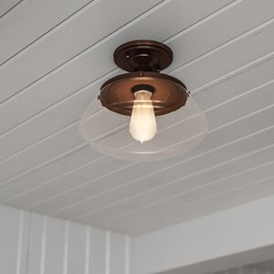 Castle Pines 1-Light Semi Flush Mount