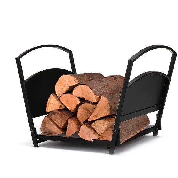 Fireplace Indoor/outdoor Firewood Log Rack By Mind Reader