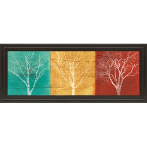 Fallen Leaves by Stephane Fontaine Framed Graphic Art by Classy Art Wholesalers
