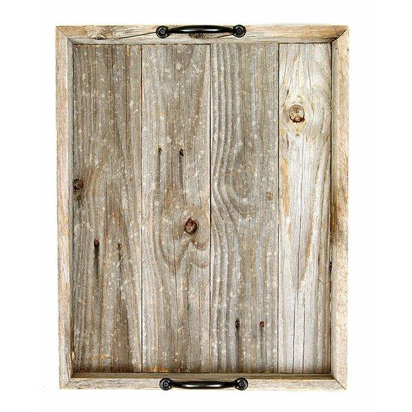 Shrutika Wooden Serving Tray by Gracie Oaks