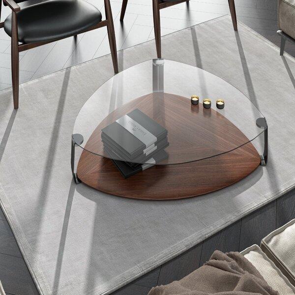 Home & Outdoor Georgiev Floor Shelf Coffee Table With Storage