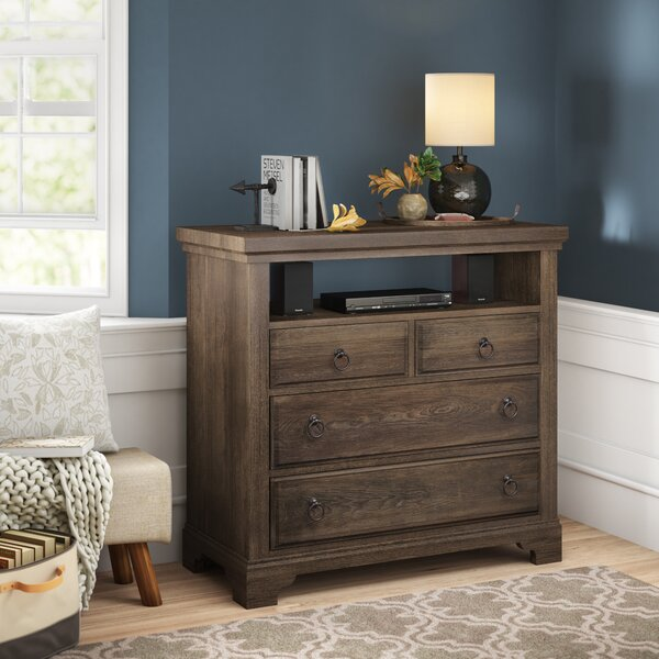 Calila 4 Drawer Media Chest By Birch Lane™ Heritage by Birch Lane™ Heritage Amazing