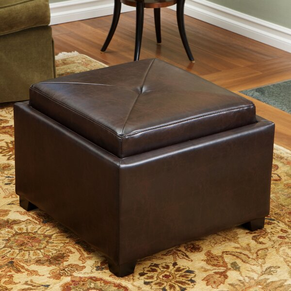 Reaves Tufted Storage Ottoman by Winston Porter