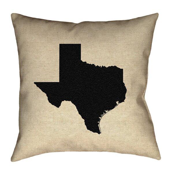Sherilyn Texas Double Sided Print Floor Pillow