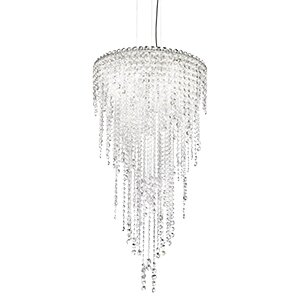 Chantant 5-Light Unique / Statement Tiered Chandelier By Schonbek