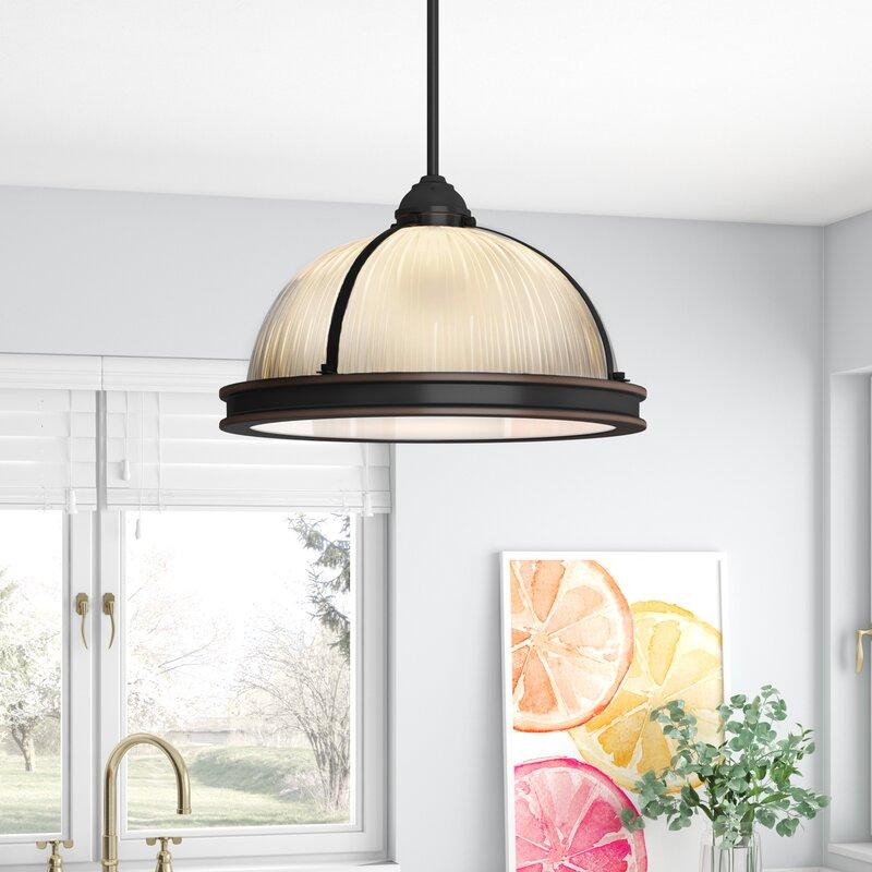 Baylor 2 Light Dome Pendant Reviews Joss Main