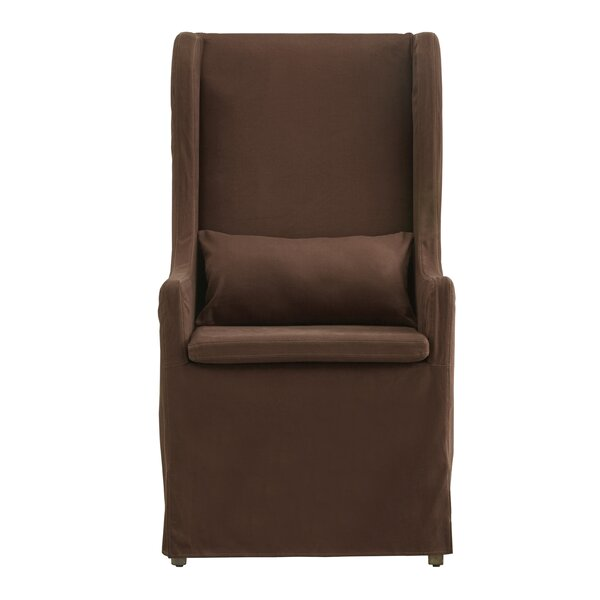 Lefebre Wingback Chair by One Allium Way