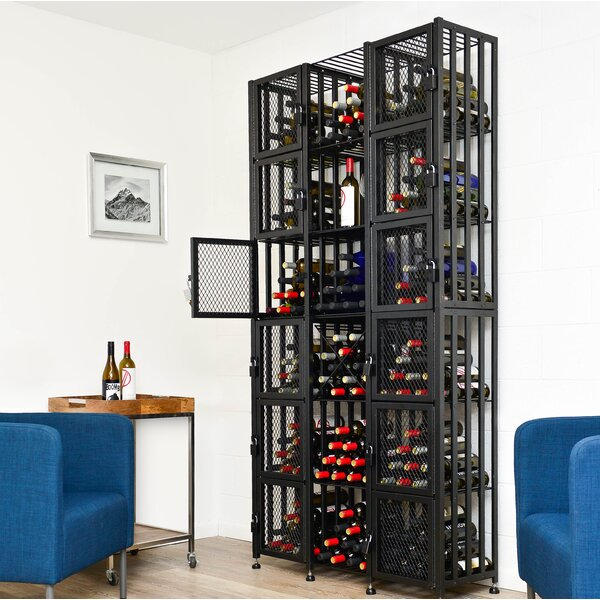 Bin 96 Bottle Floor Wine Bottle Rack by VintageView VintageView