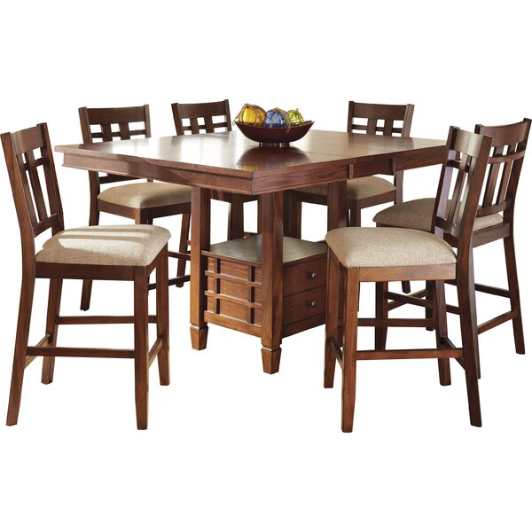 Hannon 7 Piece Counter Height Dining Set by Darby Home Co