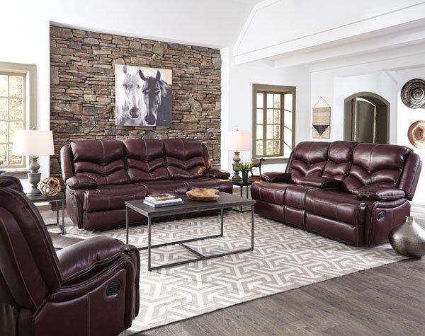 Washington Reclining Configurable Living Room Set by Three Posts