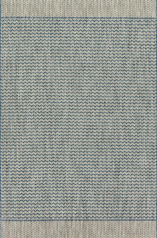 Loloi Rugs Isle Gray/Blue Indoor/Outdoor Area Rug & Reviews | Wayfair