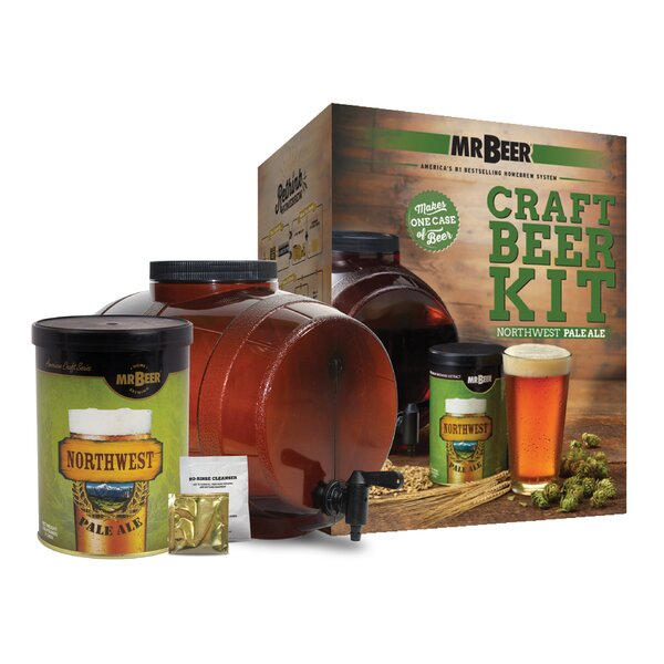 Mr. Beer Northwest Ale Craft Beer Making Kit by Mr. Beer