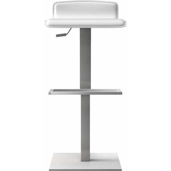 Messina Adjustable Height Bar Stool by Modloft