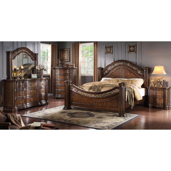 Boulogne Platform Configurable Bedroom Set by Roundhill Furniture