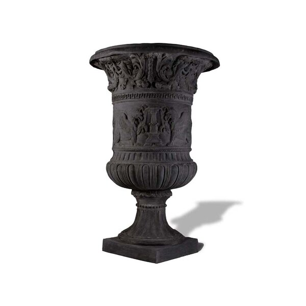 Majestic Tuscan Resin Stone Urn Planter by Amedeo Design