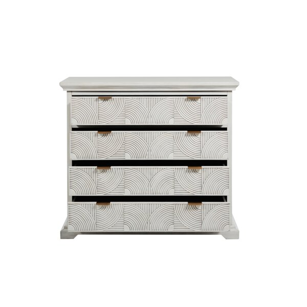 Kai 4 Drawer Standard Dresser by Gabby