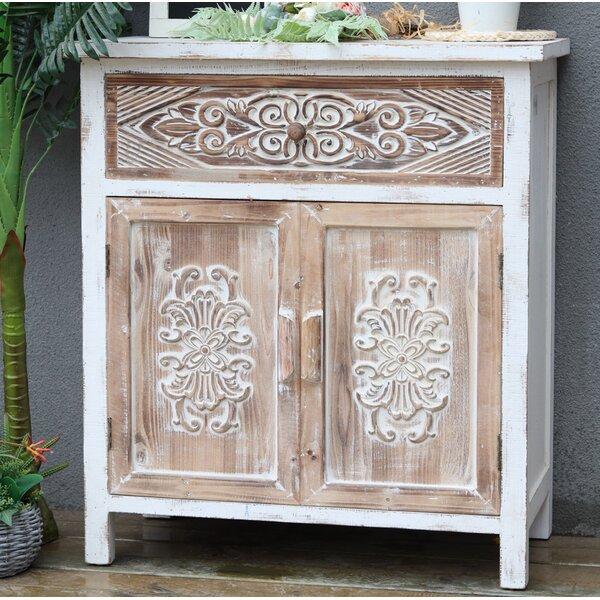 Eliska 2 Door Square Accent Cabinet