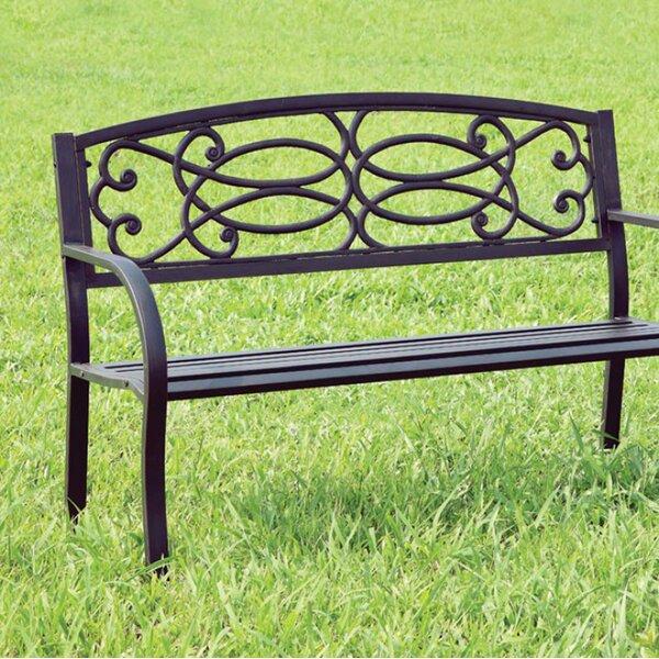Cesca Armrests Wooden Park Bench by Red Barrel Studio