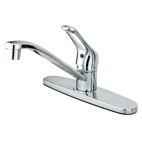 Wyndham Centerset Single Handle Kitchen Faucet by Kingston Brass