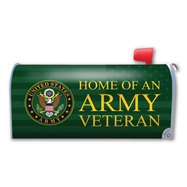 Home of an Army Veteran Magnetic Mailbox Cover by Magnet America
