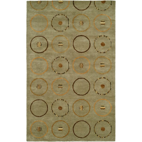 Beige Hand-Tufted Area Rug by Meridian Rugmakers