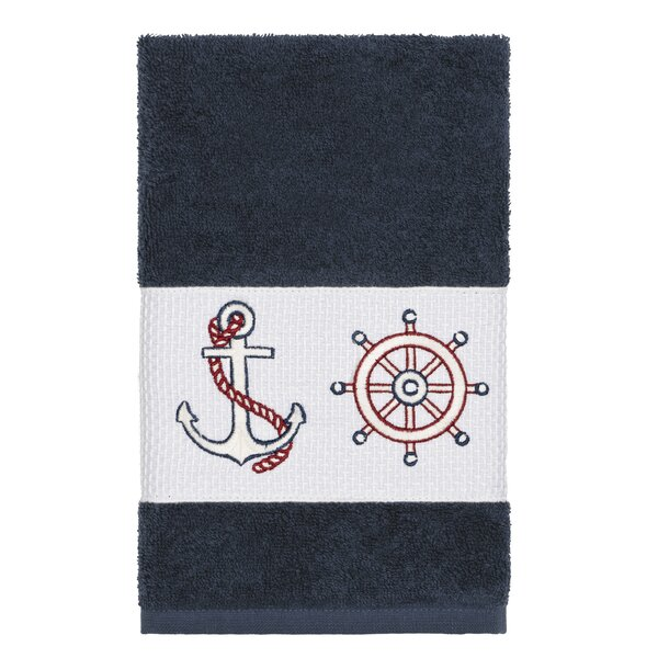 Kacie Turkish Cotton Hand Towel by Breakwater Bay