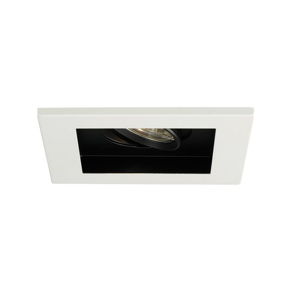 Line Voltage Downlight Recessed Housing with Multi Spot Trim by WAC Lighting